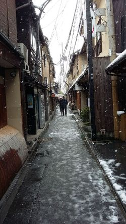 Kyoto in snow_250w